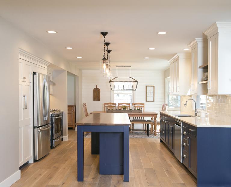 Tuxedo Style Cabinetry