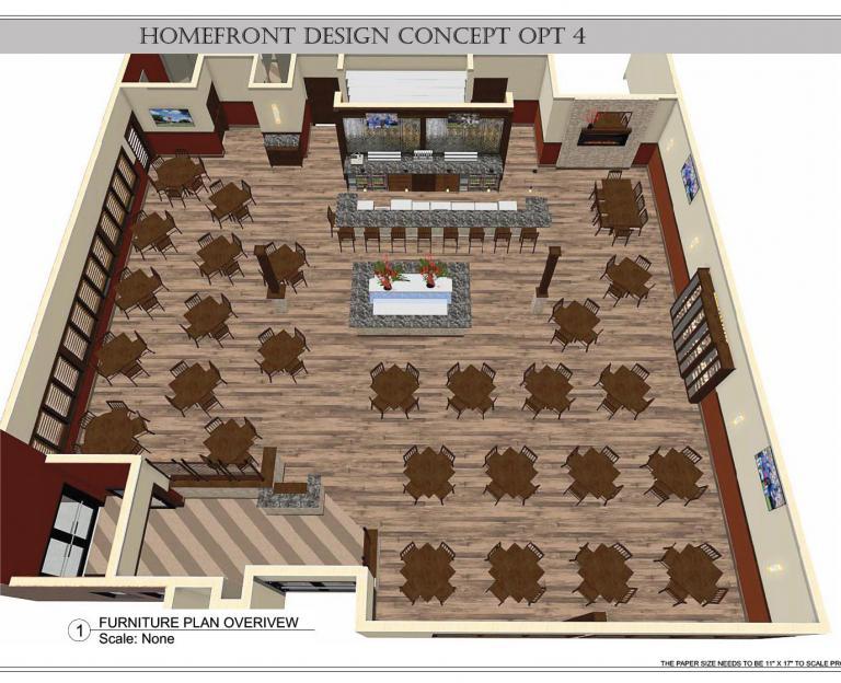Restaurant Design Example 1
