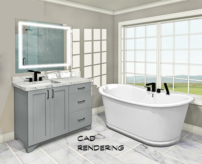 Spare Bedroom Flip To Master Bath